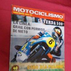 Coches y Motocicletas: MOTOCICLISMO. SEGUNDA QUINCENA AGOSTO 1975. PRUEBA. MONTESA COTA 247. ULF KARLSON.. Lote 79551941