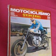Coches y Motocicletas: MOTOCICLISMO. PRIMERA QUINCENA SEPTIEMBRE 1972. LAS 750 C.C. CAMPIONATO MUNDIAL 1973.. Lote 79552893