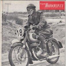 Coches y Motocicletas: REVISTA ESPAÑA MOTOCICLISTA Nº 38 AÑO 1954. . Lote 80985028