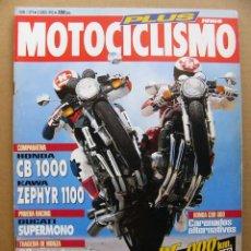 Coches y Motocicletas: MOTOCICLISMO 1319 HONDA CB 1000 KAWASAKI ZEPHYR 1100 TRIUMPH TRIDENT 900 PEUGEOT SV 50. Lote 81234128