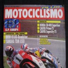 Coches y Motocicletas: REVISTA MOTOCICLISMO - Nº 1267 - JUNIO 1992.. Lote 82115596
