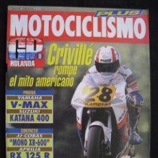 Coches y Motocicletas: REVISTA MOTOCICLISMO - Nº 1271 - JULIO 1992.. Lote 82118684
