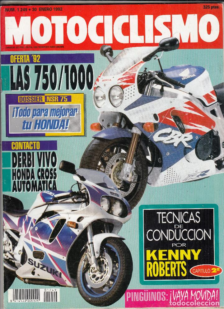 Revista Motociclismo Nº 1249 Año 1992 Prueba Sold Through Direct