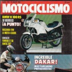 Coches y Motocicletas: REVISTA MOTOCICLISMO Nº 1143 AÑO 1990. CONT: YAMAHA TZ 50. FANTIC 307. RAC: HONDA RC 30 S. MERTENS.. Lote 116232099