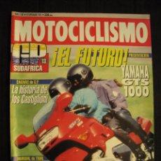 Coches y Motocicletas: REVISTA MOTOCICLISMO - Nº 1281 - SEPTIEMBRE 1992.. Lote 82350920