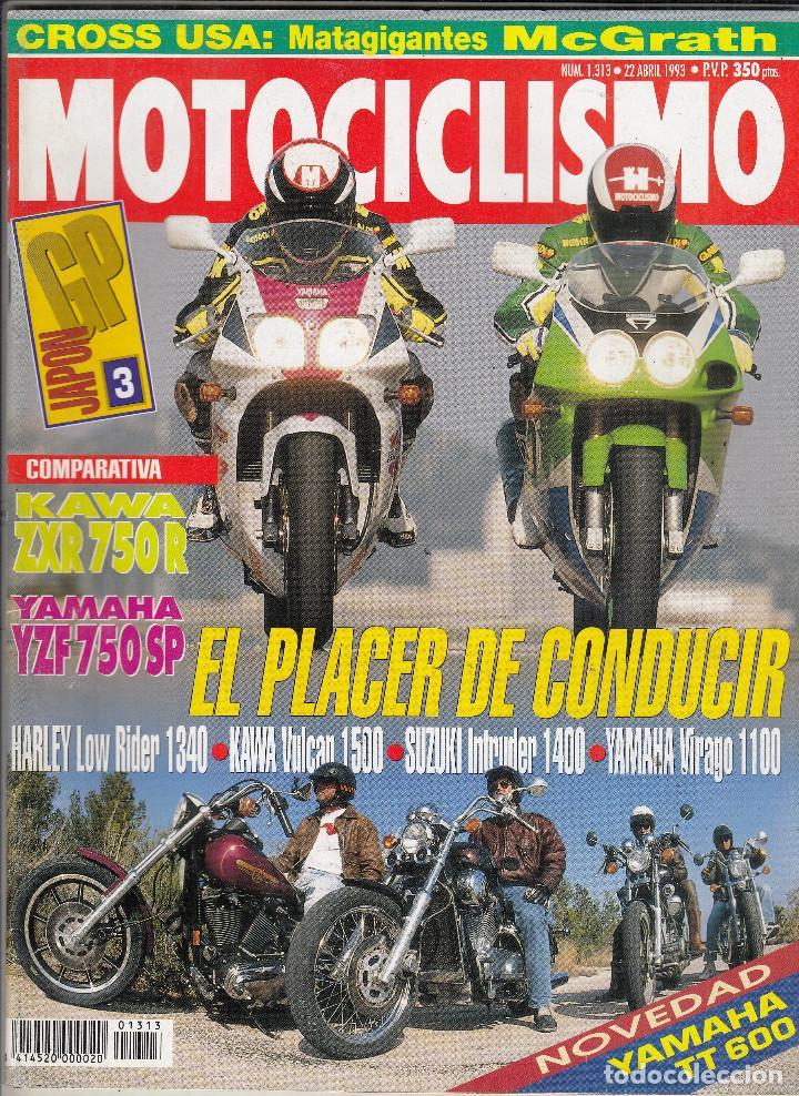 Revista Motociclismo Nº 1313 Año 1993 Comparat Buy Old Magazines