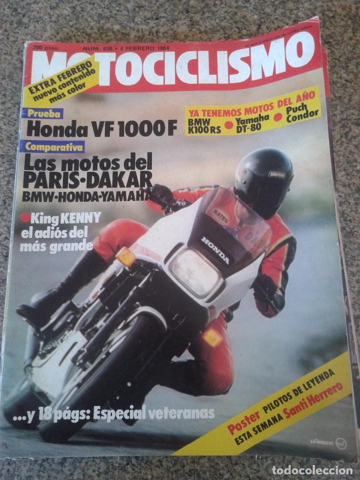REVISTA MOTOCICLISMO -- Nº 838 - FEBRERO 1984 -- (Coches y Motocicletas - Revistas de Motos y Motocicletas)