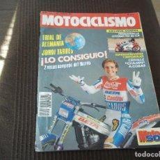 Coches y Motocicletas: REVISTA MOTOCICLISMO Nº 1124 AÑO 1989. PRUEBA: JJ-COBAS 125 GP. PRUEBA: SUZUKI RMX 250. REPORTAJES. Lote 114644355