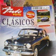 Coches y Motocicletas: 2 AUTOFOTO CLASICOS. Lote 84023724