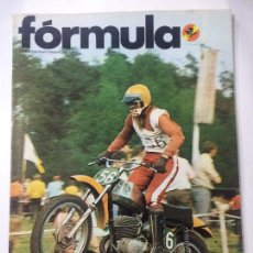 Coches y Motocicletas: REVISTA FORMULA NÚMERO 80 JUNIO 1973, MOTOCICLISMO GP, 1000 KM MONZA SPA, VER SUMARIO.. Lote 85062588