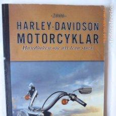 Coches y Motocicletas: CATALOGO HARLEY DAVIDSON, 2006,. Lote 84368580