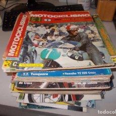 Coches y Motocicletas: LOTE 42 REVISTAS MOTOCICLISMO Y VARIOS, VER FOTOS, LEER CONTENIDO. Lote 86663636