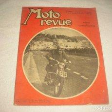 Coches y Motocicletas: MOTO REVUE . N° 1233 . ABRIL 1955 . EN FRANCÉS. Lote 86803108