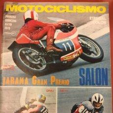Coches y Motocicletas: REVISTA MOTOCICLISMO 1975 - JARAMA GRAN PREMIO - DKW WANKEL 2002 - DUCATI 500 - Y MUCHO MAS.... Lote 87595016