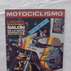 Coches y Motocicletas: REVISTA DE MOTOCICLISMO. Lote 87674664