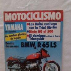 Coches y Motocicletas: REVISTA DE MOTOCICLISMO. Lote 87676424