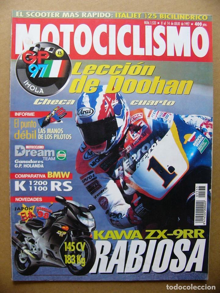MOTOCICLISMO 1533 COMPARATIVA BMW K 1200 RS BMW K 1100 RS NOVEDADES 1998 (Coches y Motocicletas - Revistas de Motos y Motocicletas)