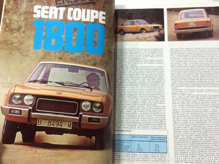 Coches y Motocicletas: REVISTA FORMULA NÚMERO 78, ABRIL 1973, ESPECIAL RALLIES, VER SUMARIO. - Foto 6 - 89076776