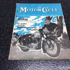 Coches y Motocicletas: THE MOTOR CYCLE - OCTOBER 1950 - NORTON. Lote 89409248