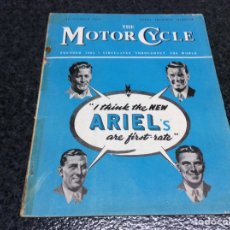Coches y Motocicletas: THE MOTOR CYCLE - OCTOBER 1949- ARIEL'S. Lote 89409356