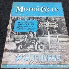Coches y Motocicletas: THE MOTOR CYCLE - NOVEMBER 1948- MATCHLESS CLUBMAN. Lote 89409536