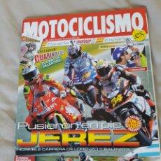 Coches y Motocicletas: REVISTA MOTOCICLISMO N° 2040, MARZO 2007. CARRERA JEREZ LORENZO BAUTISTA, 176 PÁGINAS. Lote 89512763