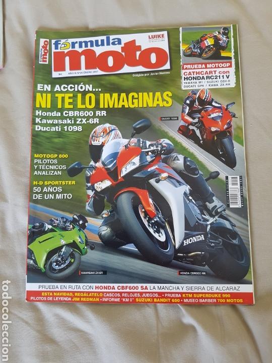 REVISTA FÓRMULA MOTO N° 25 ENERO 2007. MOTOGP 800 LUIKE MOTOCICLISMO MAGAZINE (Coches y Motocicletas - Revistas de Motos y Motocicletas)