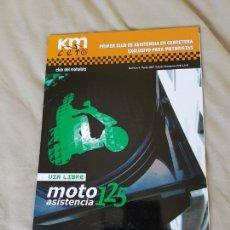 Coches y Motocicletas: REVISTA KM CERO, CLUB DEL MOTORISTA, N° 4, MARZO 2007. EDICIÓN TRIMESTRAL.. Lote 89514215