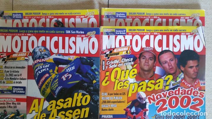 Coches y Motocicletas: LOTE DE 29 REVISTAS MOTOCICLISMO - AÑOS 1999 2001 Y 2002 - Foto 2 - 129205427