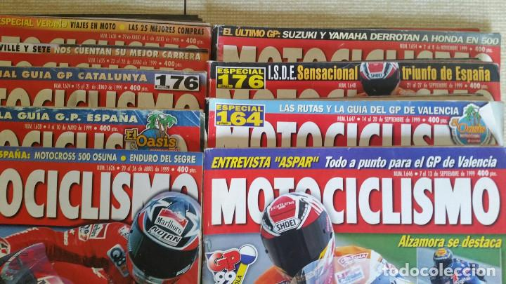 Coches y Motocicletas: LOTE DE 29 REVISTAS MOTOCICLISMO - AÑOS 1999 2001 Y 2002 - Foto 3 - 129205427