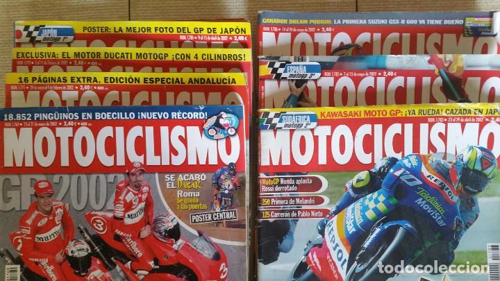 Coches y Motocicletas: LOTE DE 29 REVISTAS MOTOCICLISMO - AÑOS 1999 2001 Y 2002 - Foto 4 - 129205427