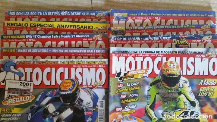 Coches y Motocicletas: LOTE DE 29 REVISTAS MOTOCICLISMO - AÑOS 1999 2001 Y 2002 - Foto 5 - 129205427