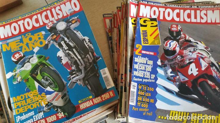 LOTE DE MÁS DE 40 REVISTAS MOTOCICLISMO - AÑO 1994 (Coches y Motocicletas - Revistas de Motos y Motocicletas)