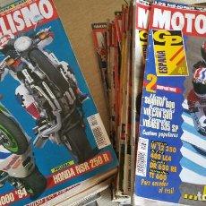 Coches y Motocicletas: LOTE DE MÁS DE 40 REVISTAS MOTOCICLISMO - AÑO 1994. Lote 89537192