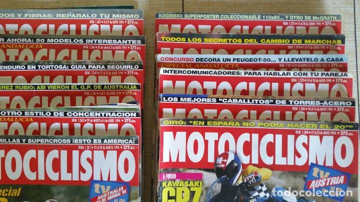Coches y Motocicletas: LOTE DE MÁS DE 40 REVISTAS MOTOCICLISMO - AÑO 1994 - Foto 2 - 89537192