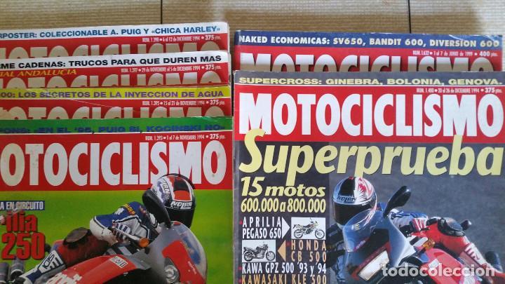Coches y Motocicletas: LOTE DE MÁS DE 40 REVISTAS MOTOCICLISMO - AÑO 1994 - Foto 4 - 89537192