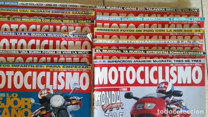 Coches y Motocicletas: LOTE DE MÁS DE 40 REVISTAS MOTOCICLISMO - AÑO 1994 - Foto 5 - 89537192