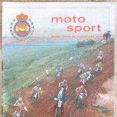 Coches y Motocicletas: MOTO SPORT 130 1982 ÓRGANO OFICIAL DE MOTOCICLISMO ESPAÑOL.. Lote 89615284