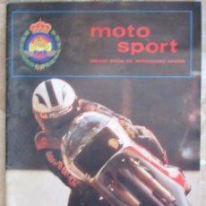 Coches y Motocicletas: MOTO SPORT 127 1981 ÓRGANO OFICIAL DE MOTOCICLISMO ESPAÑOL.. Lote 89615416