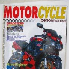 Coches y Motocicletas: REVISTA MOTORCYCLE PERFORMANCE Nº 10 - FOTO SUMARIO- MONTESA YAYA B46/49 - SUZUKI RG 500 MK II -. Lote 90042116