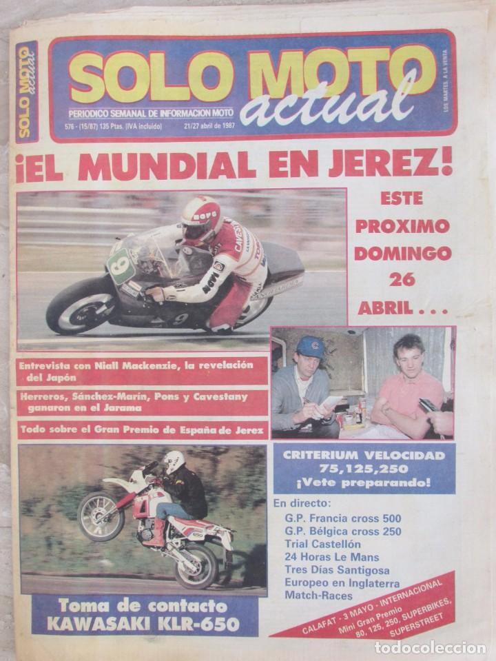 ca80febdd7a solo moto actual 576 1987 mundial jerez. niall - Comprar Revistas ...