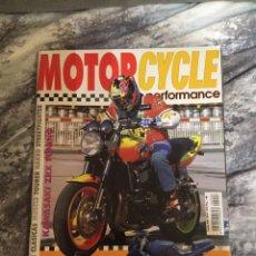 Coches y Motocicletas: REVISTA MOTORCYCLE Nº6 REPORTAJE MV AGUSTA, ZXR 1100, GSXR 750, BANDIT SUSIE, BSA B-50, NORTON.. Lote 90378867
