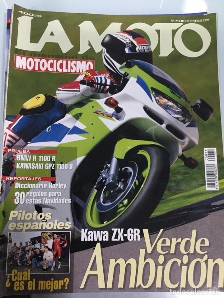 REVISTA LA MOTO Nº 57 ENERO 1995 (Coches y Motocicletas - Revistas de Motos y Motocicletas)
