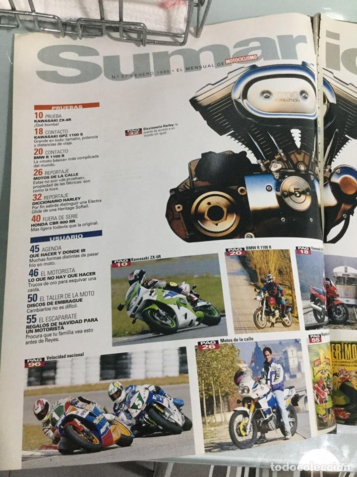 Coches y Motocicletas: Revista La Moto Nº 57 enero 1995 - Foto 2 - 90383102