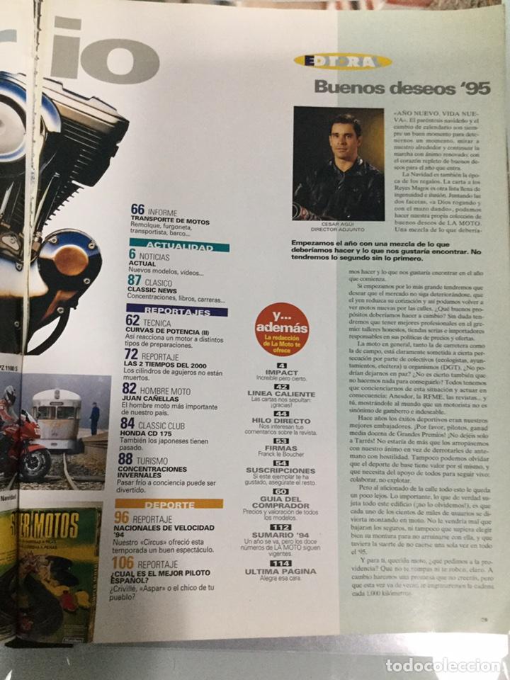 Coches y Motocicletas: Revista La Moto Nº 57 enero 1995 - Foto 3 - 90383102