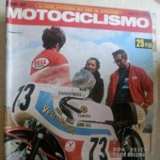 Coches y Motocicletas: REVISTA MOTOCICLISMO. FEBRERO 1972.. Lote 90423584