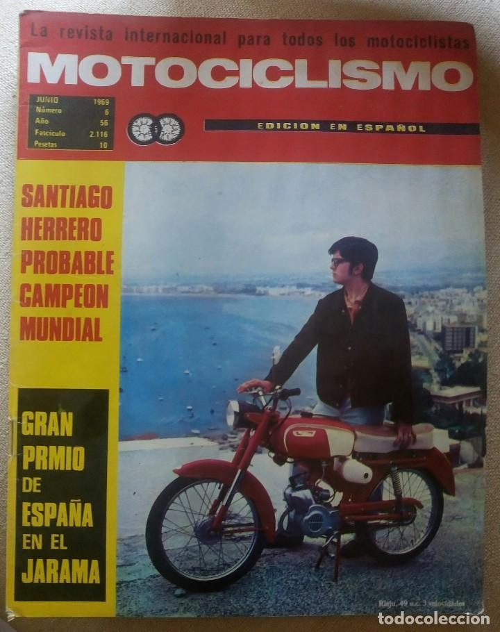 REVISTA MOTOCICLISMO. JUNIO 1969. (Coches y Motocicletas - Revistas de Motos y Motocicletas)