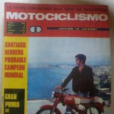 Coches y Motocicletas: REVISTA MOTOCICLISMO. JUNIO 1969.. Lote 90428874
