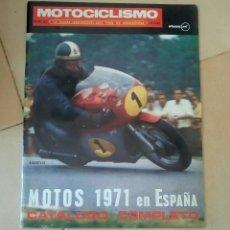 Coches y Motocicletas: REVISTA MOTOCICLISMO. ENERO 1971. . Lote 90439794