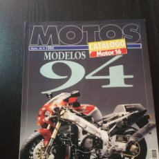 Coches y Motocicletas: MOTOS CATALOGO NUM 44 1994. Lote 90563137